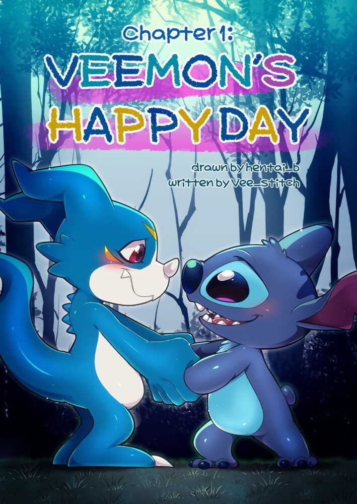 Chapter 1 : Veemons Happy day