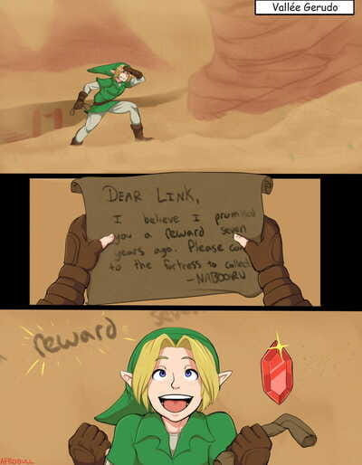 Zelda Alternate Destinies..