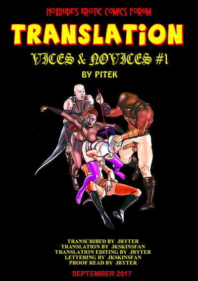 Pitek Vices & Novices English